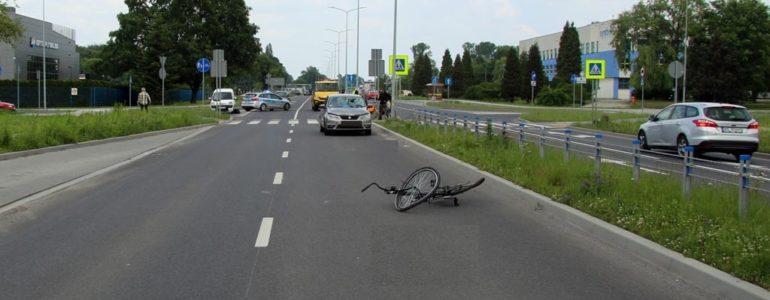 Znowu wypadek na dwupasmówce