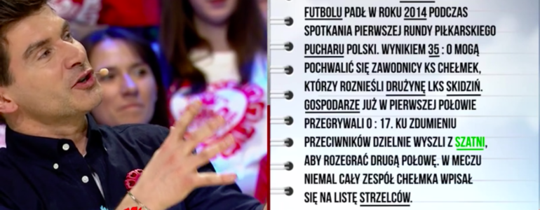 """Drużyna z Chełmka bohaterem w """"Kocham Cię Polsko"""" – FILM"""