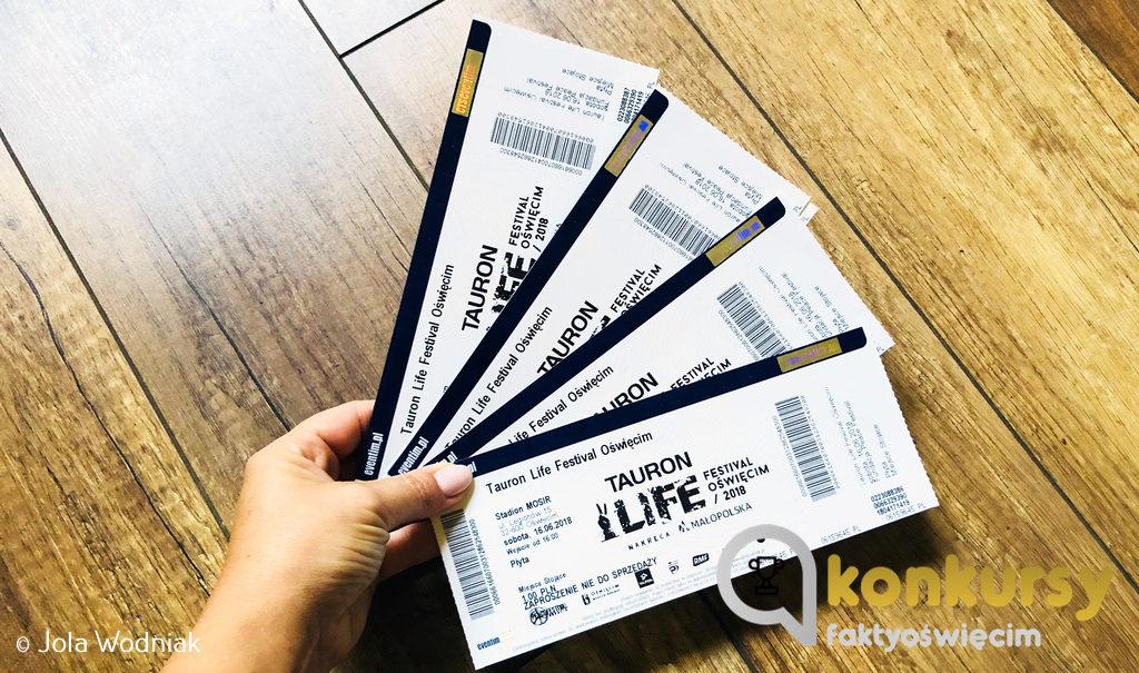 Zapraszamy do zabawy, w której można wygrać podwójny bilet na sobotnie koncerty w ramach Tauron Life Festival Oświęcim. Wziąć w nim udział mogą tylko zalogowani czytelnicy.