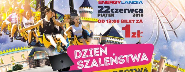 Dzień szaleństwa za szkolne świadectwa w Energylandii
