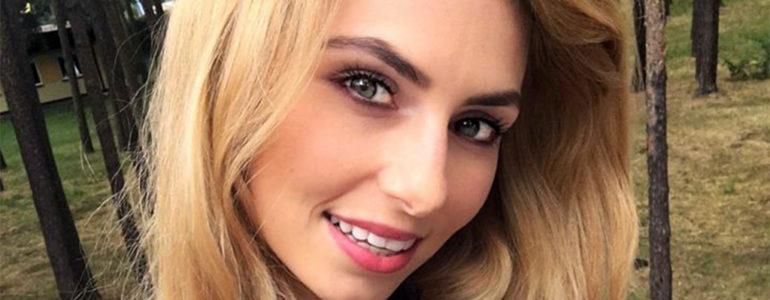 Luiza Szczerbowska w finale Miss Polski