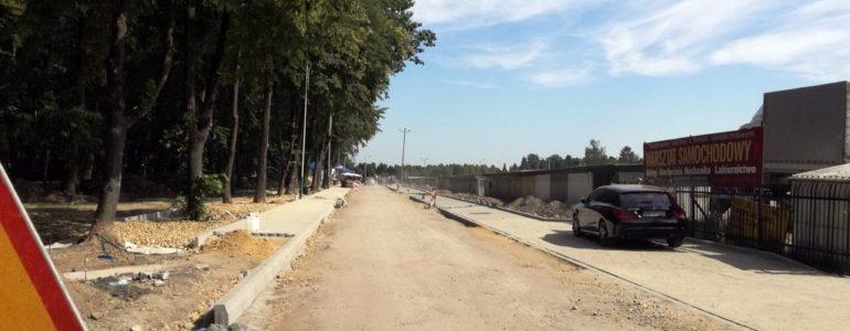 Remont drogi w okolicy cmentarza dobiega końca – FOTO