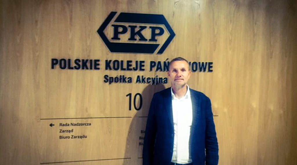 Zbigniew Starzec, starosta oświęcimski spotkał się z prezesem zarządu PKP S.A. Krzysztofem Mamińskim w celu rozważenia możliwości zwiększenia kwoty dofinansowania inwestycji.