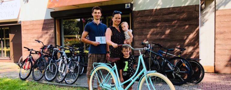 Natalia Lorek wygrała rower od Fabryki Rowerowej