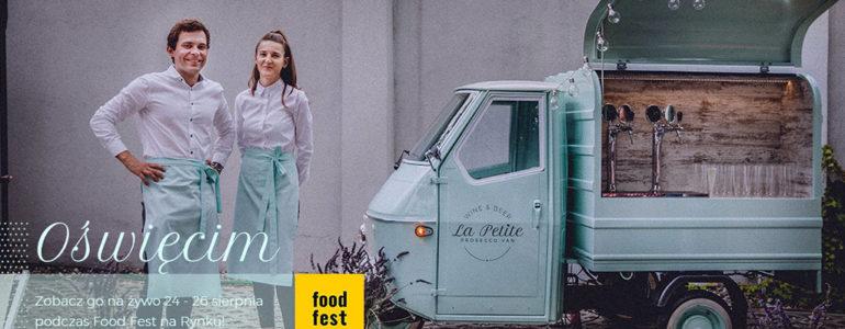La Petite Prosecco Van na oświęcimskim rynku
