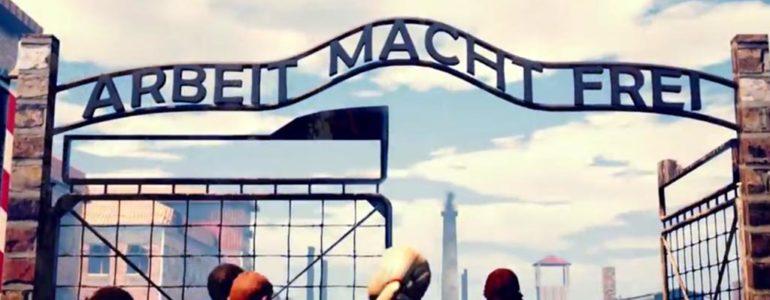 Skandaliczna gra. Akcja dzieje się w Auschwitz – FILMY