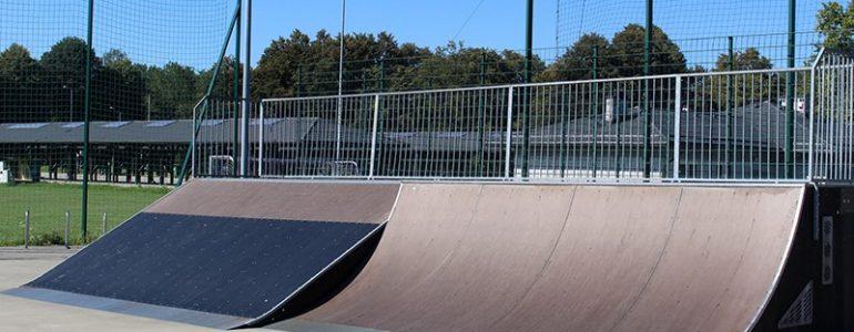 Skatepark ponownie do użytku – FOTO
