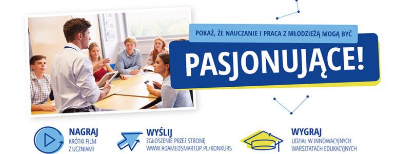 Konkurs dla szkół i nauczycieli z pasją. Do wygrania nawet pięć tysięcy złotych