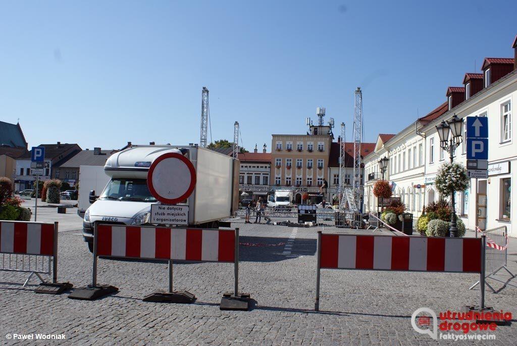 Jesień Oświęcimska rozpocznie się jutro w grodzie nad Sołą. W związku z trzydniową imprezą kierowców czekają pewne utrudnienia w sercu miasta.
