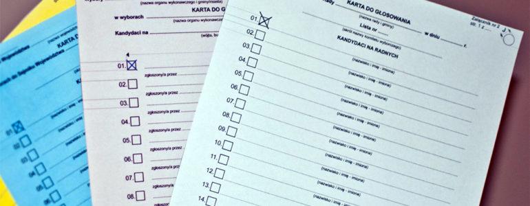 Jak i gdzie głosować w wyborach samorządowych?