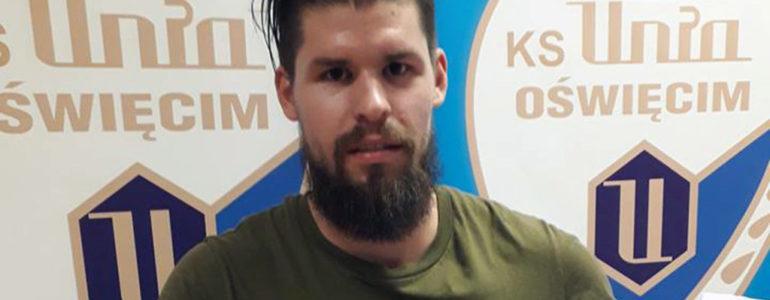 Aleš Ježek, czeski obrońca w Unii Oświęcim