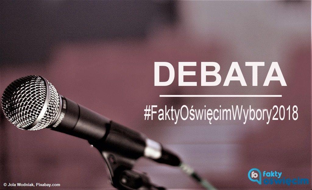 Kandydaci na urząd prezydenta Oświęcimia spotkają się na zaproszenie Faktów Oświęcim. Debata eFO odbędzie się w dwie kolejne środy. Zapraszamy.