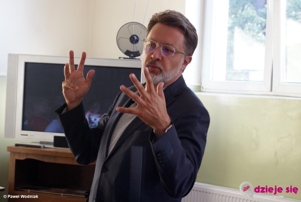 Grojec odwiedził Michał Rusinek, były sekretarz poetki Wisławy Szymborskiej, laureatki Literackiej Nagrody Nobla w 1996 roku. Spotkanie było rewelacyjne.
