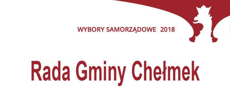 Kto chce zostać radnym gminy Chełmek?