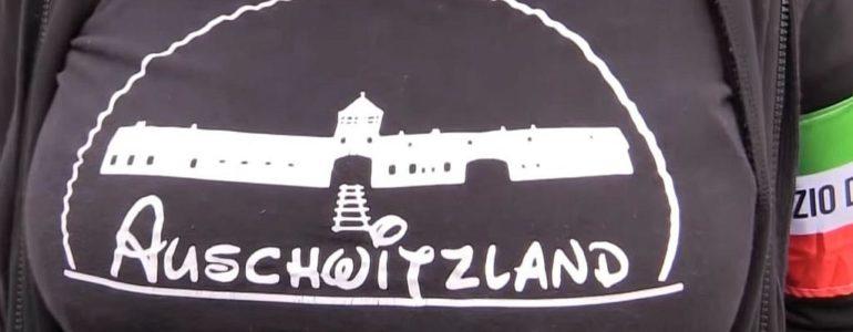 Auschwitzland – obrzydliwy strój włoskiej neofaszystki – FOTO