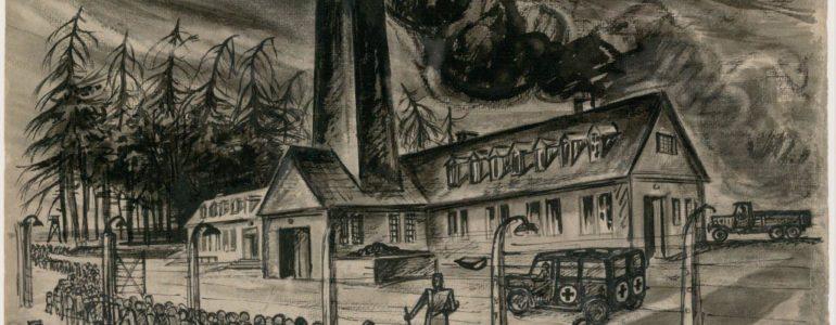 Niezwykła wystawa prac byłego więźnia Sonderkommando – FOTO