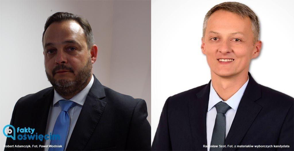 Robert Adamczyk i Radosław Szot spotkają się w drugiej turze wyborów na urząd burmistrza gminy Brzeszcze. Który z nich wygra w mateczniku Beaty Szydło?