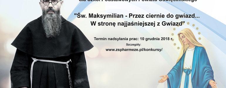 Konkurs Plastyczny i Literacki o świętym Maksymilianie z eFO