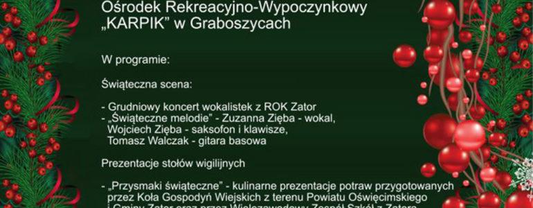 Powiatowy PrzeglądStołów Wigilijnych 2018
