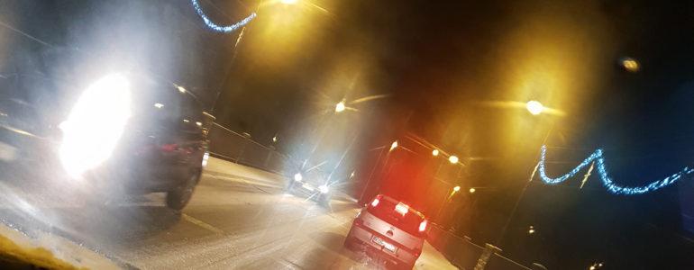 Zima zaskoczyła… kierowców – FILM