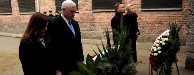 Mike Pence i Andrzej Duda w Miejscu Pamięci – FOTO