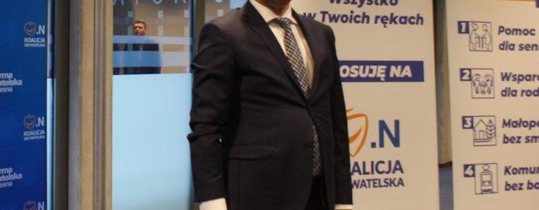 Marek Sowa z PO bohaterem konferencji PiS