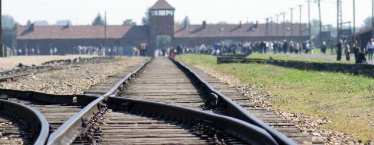 Kradzież w byłym niemieckim obozie Birkenau