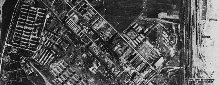 Pierwsze lotnicze zdjęcia Auschwitz-Birkenau