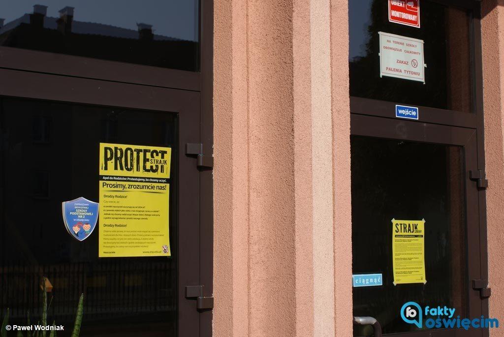 Szkoły i przedszkola miejskie i gminne oraz powiatowe przystąpiły dzisiaj do strajku nauczycieli. Dyrektorzy starają się zapewnić opiekę uczniom.