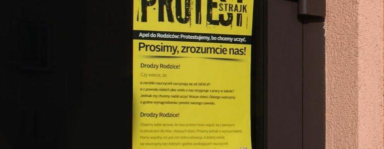 Małopolski KOD popiera protest nauczycieli