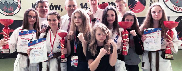 Przywieźli z Krakowa dziewięć medali