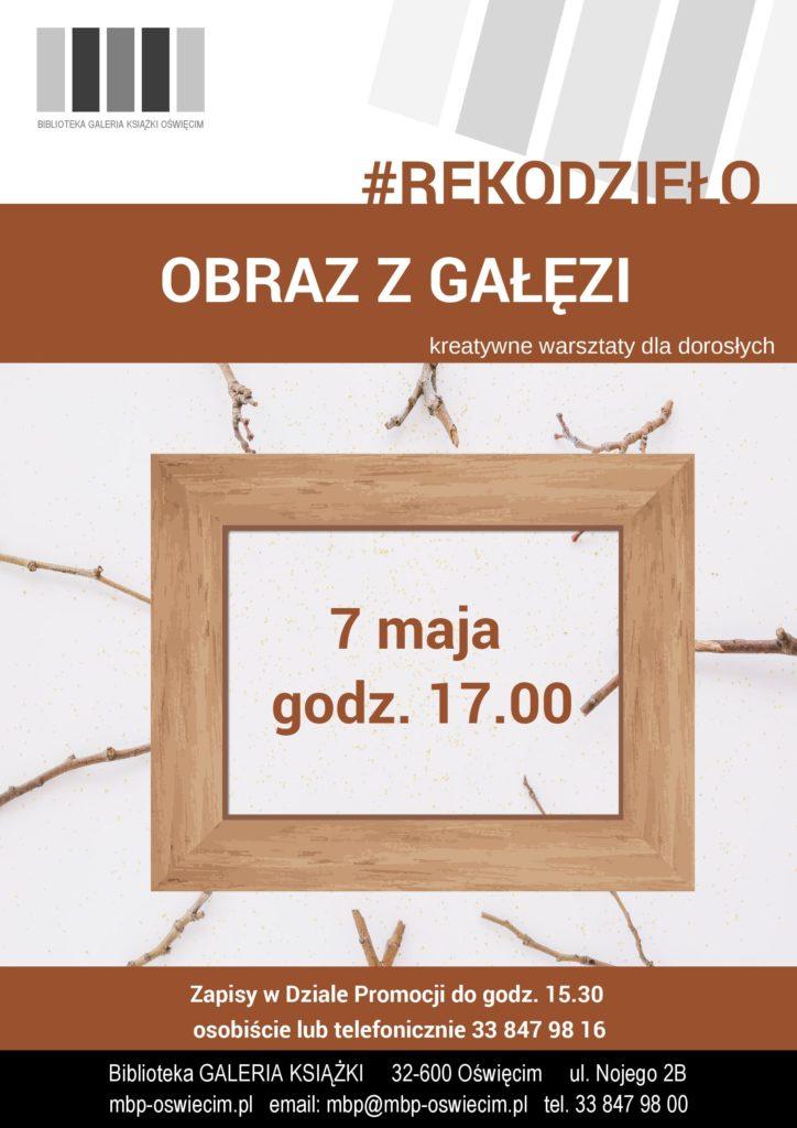 #Rękodzieło, czyli Tydzień Bibliotek