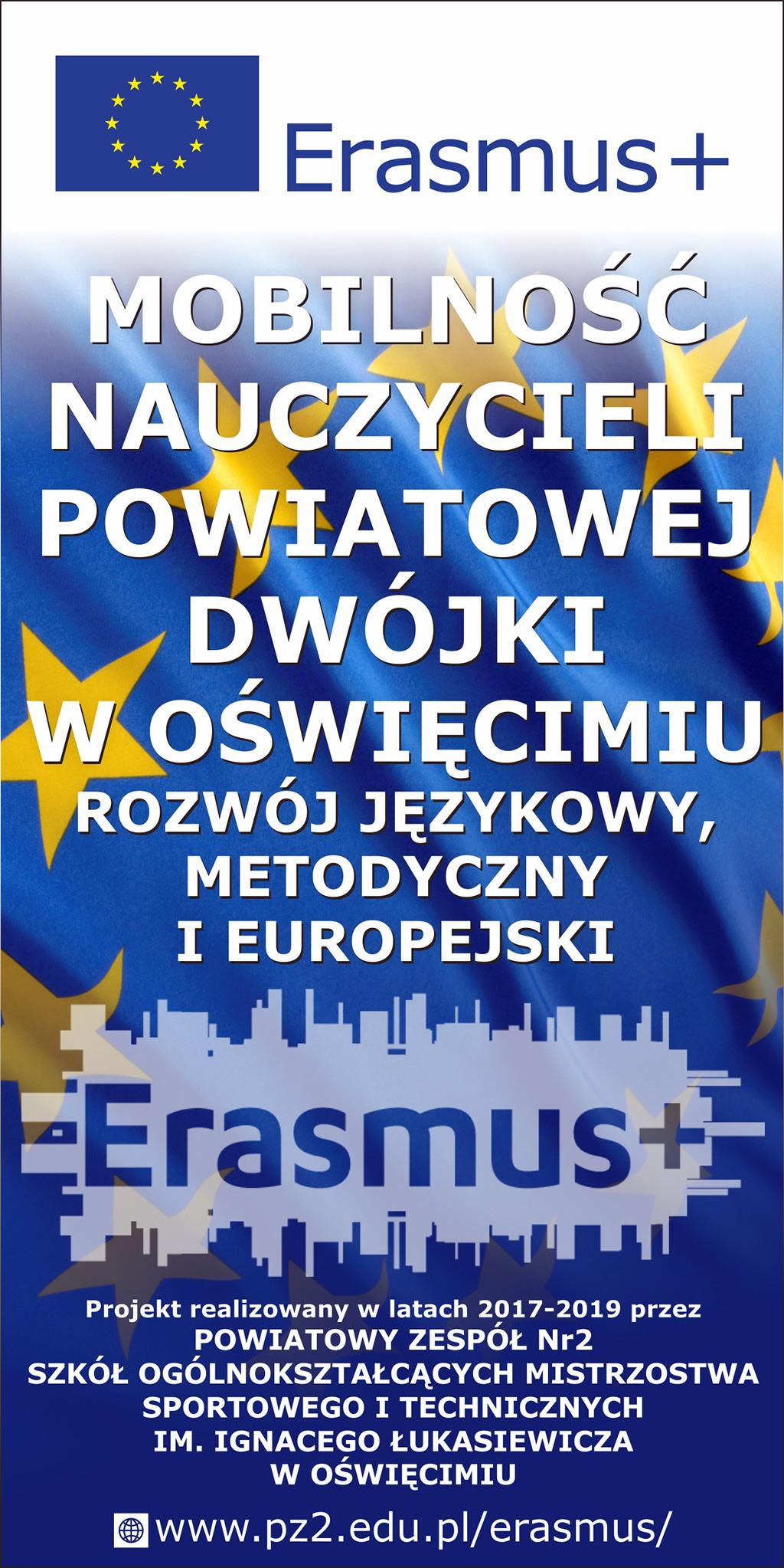 Nauczyciele powiatowej Dwójki w Programie Erasmus