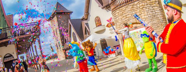 Dzieci małe i duże mogą świętować w Energylandii