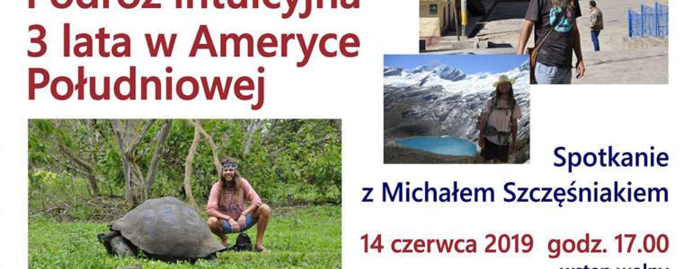 Spotkanie z podróżnikiem Michałem Szczęśniakiem