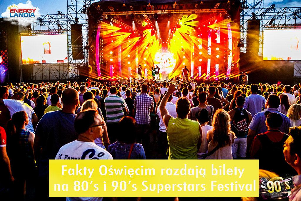 W weekend 28 i 29 czerwca w Zatorze nastąpi prawdziwa eksplozja muzyczna dla miłośników muzyki lat 80. i 90. Mamy dla was bilety.