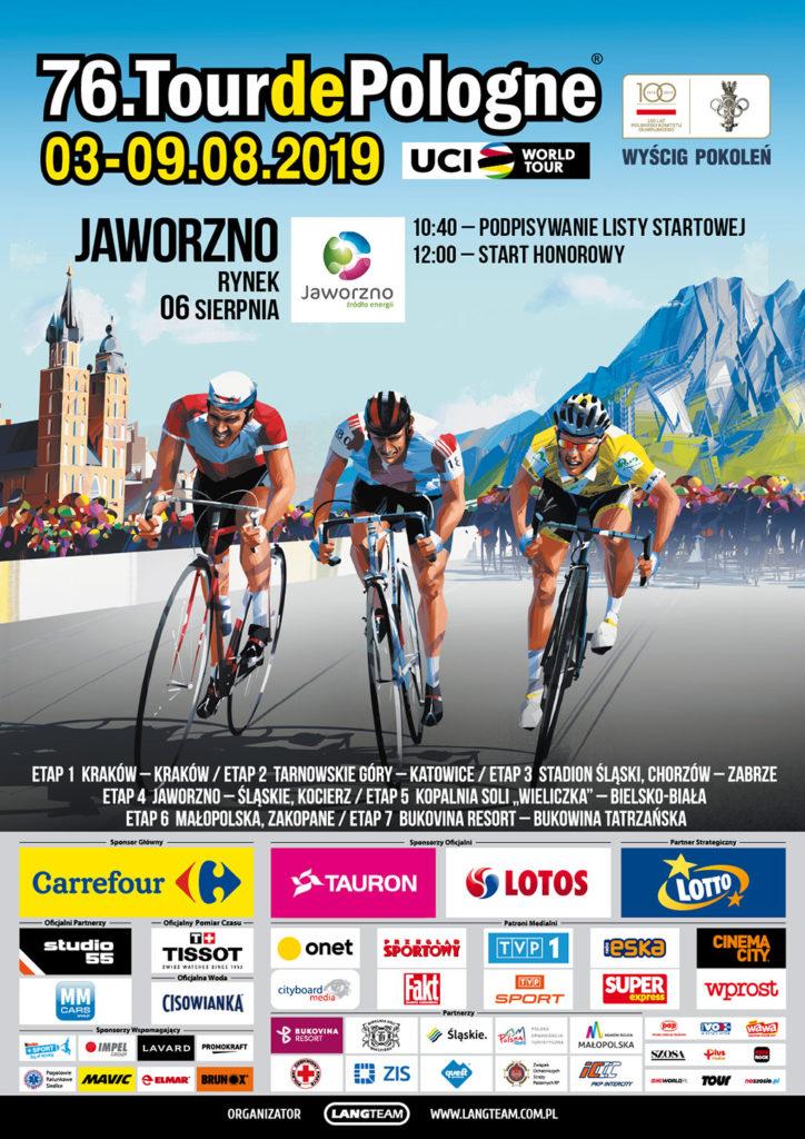 Fakty Oświęcim partnerem Tour de Pologne