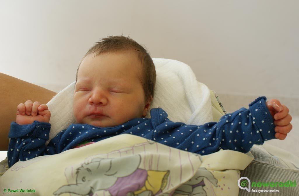 Dzisiaj witamy i prezentujemy dziewięcioro noworodków. To pięć dziewczynek i czterech chłopców urodzonych w Szpitalu Powiatowym w Oświęcimiu.