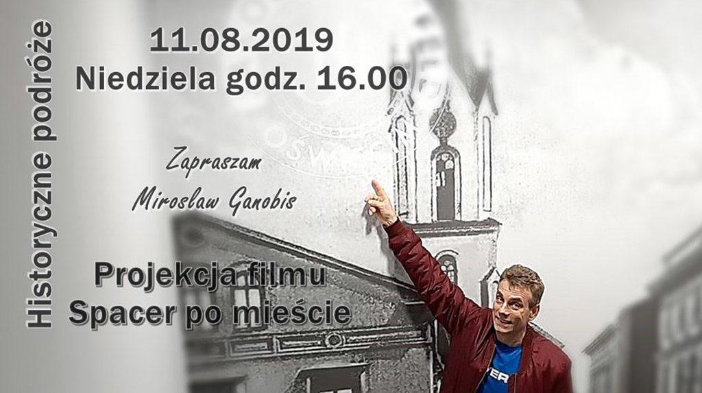 Mirosław Ganobis, miłośnik historii Oświęcimia zabierze w niedzielę gości w podróż w czasie - do dwudziestolecia międzywojennego.