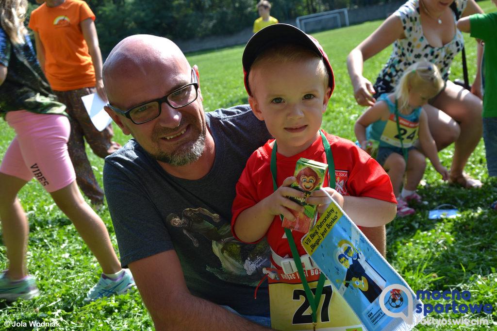 Prawie 60 najmłodszych biegaczy uczestniczyło w pierwszej edycji wydarzenia Biegać jest Bosko. Młodzi udowodnili, że Biegać jest Bosko.