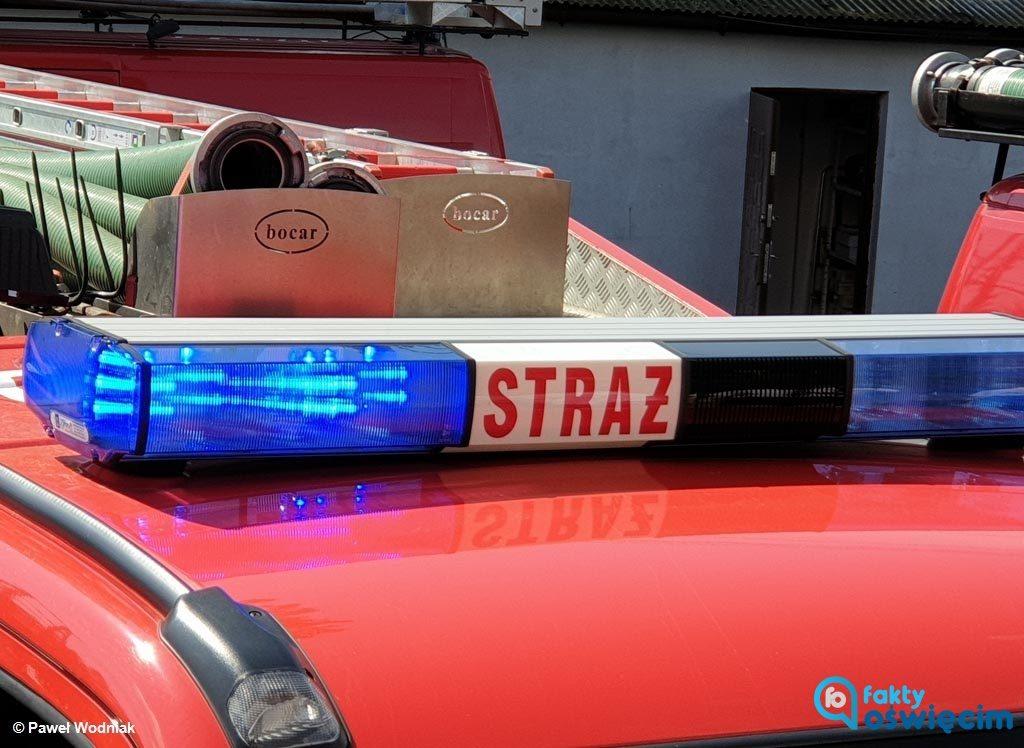 Dwie osoby odniosły obrażenia wskutek wybuchu gazu, do którego doszło na jednej z prywatnych posesji na ulicy Zygmunta Starego w Chełmku.