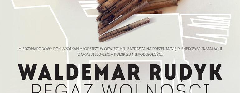 Pegaz Wolności – plenerowa instalacja Waldemara Rudyka
