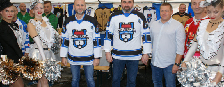 Zostaną ojcami chrzestnymi amatorskiego hokeja? – FILM, FOTO