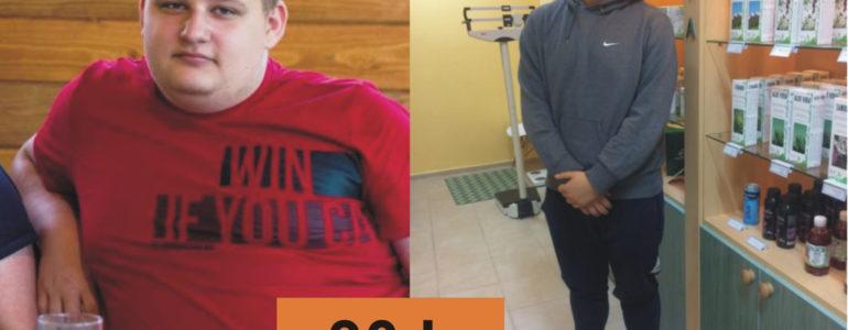 Filip ma 18 lat i mniej o 30 kg – FOTO