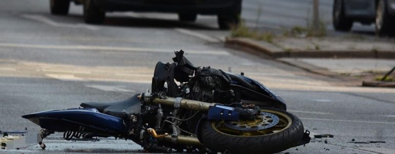 Policjant po służbie i pijany motocyklista