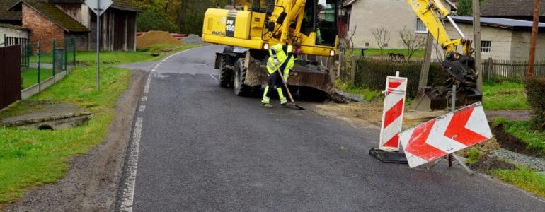 Wznowiono prace na ulicy Suskiego – FOTO