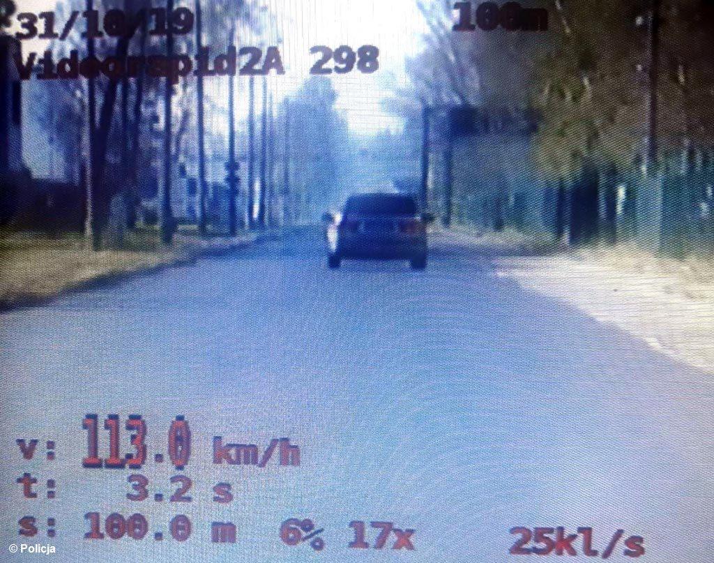 Policyjny Znicz w powiecie oświęcimskim, dla sześciu amatorów dużych prędkości, skończył się utratą praw jazdy. Nie doszło natomiast do żadnego wypadku.