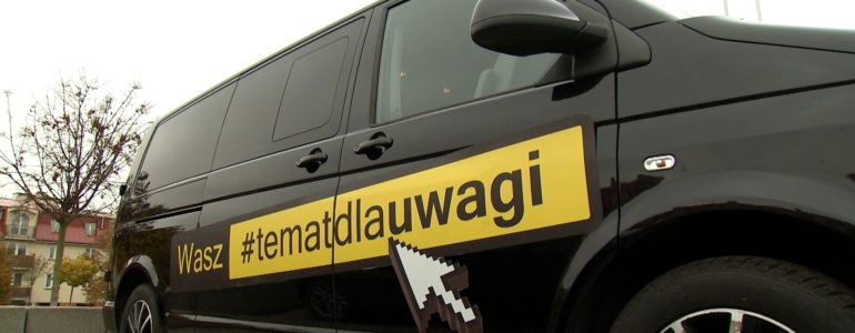 Bus #TematDlaUwagi zagości w Oświęcimiu