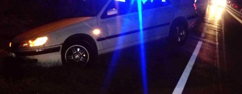 Poszukiwany pijany kierowca sprawcą kolizji – FOTO