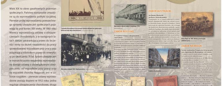 Wystawa z okazji 100-lecia ubezpieczeń w Oświęcimiu – FOTO